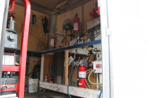 Portable Fire Extinguisher Testing and Refill Staion 006