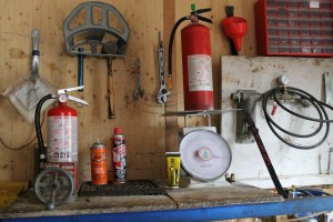 Portable Fire Extinguisher Testing and Refill Staion 012